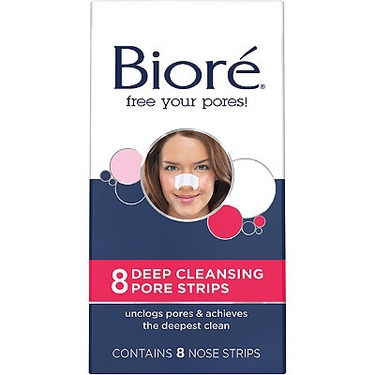 Biore Charcoal Deep Cleansing Pore Strips