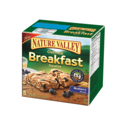 Nature Valley Oatmeal Breakfast Squares