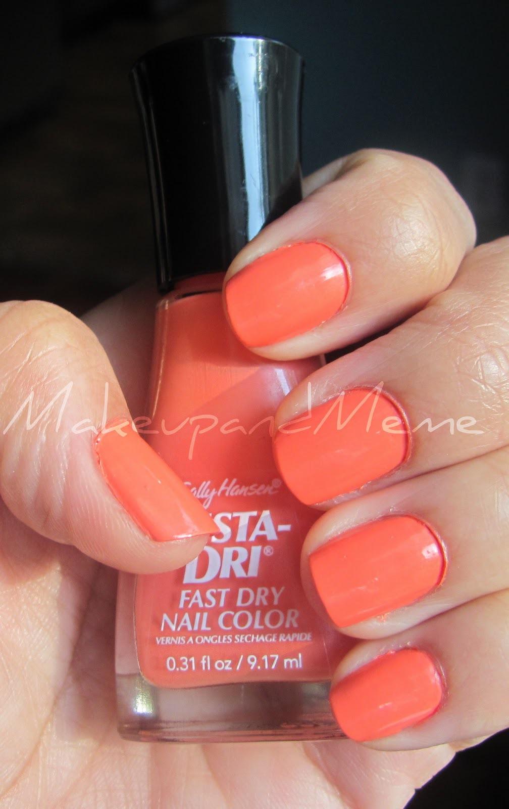 Sally Hansen Insta-Dri Fast Dry Nail Color reviews in Nail Polish ...