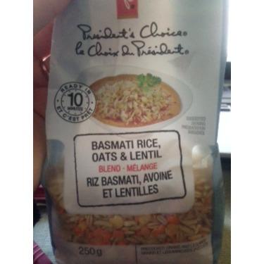 PC Basmati Rice, Oats & Lentil Blend