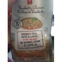 PC Basmati Rice, Oats & Lentil Blend