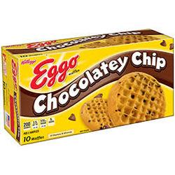 Kellogg's Eggo Chocolate Chip Waffles