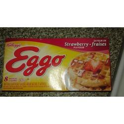 Eggo Waffles - Strawberry Flavour