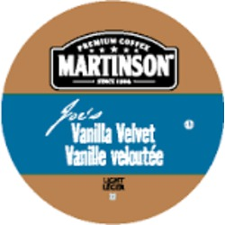 Martinson Premium Coffee — Joes' Vanilla Velvet