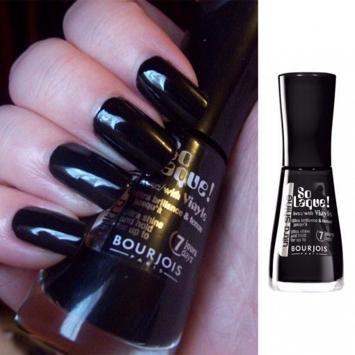 bourjois so laque ultra shine nail polish noir de chine reviews in nail polish chickadvisor. Black Bedroom Furniture Sets. Home Design Ideas