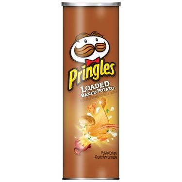 Pringles Loaded Baked Potato chips