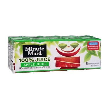 Minute Maid Apple Juice Juice Boxes