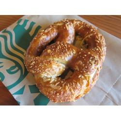 Starbucks Asiago & Cheddar Bavarian-Style Pretzel