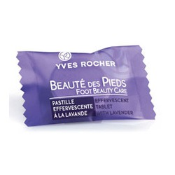 Yves Rocher — Effervescent Tablet with Lavender