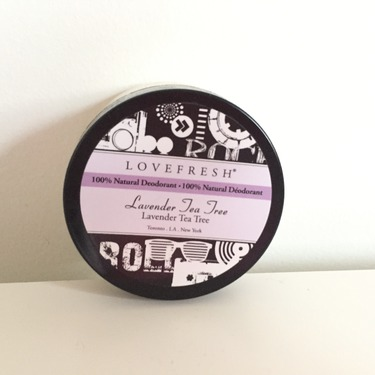 LoveFresh 100% Natural Deodorant