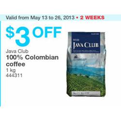 Java Club Coffee