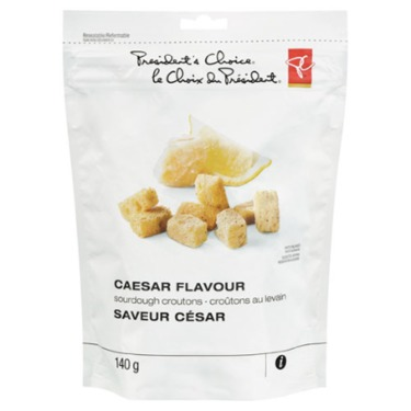 PC Caesar Flavour Sourdough Croutons