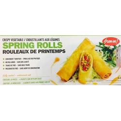 Sum-m! Crispy Vegetable Spring Rolls