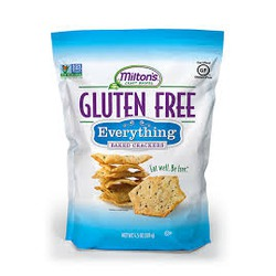 Milton's Baking Gluten Free Everything Bakced Crackers