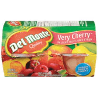 Del Monte Very Cherry Fruit Cocktail Cups