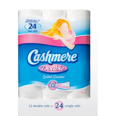 Cashmere Double Roll Bathroom Tissue