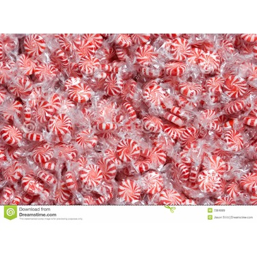 Pinwheel Peppermint Candies