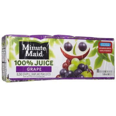 Minute Maid Grape Juice Boxes