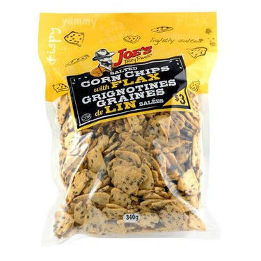 Joe's Tasty Travels Corn Chips with Flax