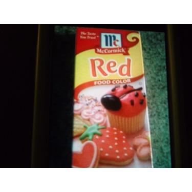 McCormick Red Food Coloring