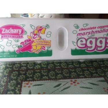 Zachery Chocolate Covered Marshmallow Eggs