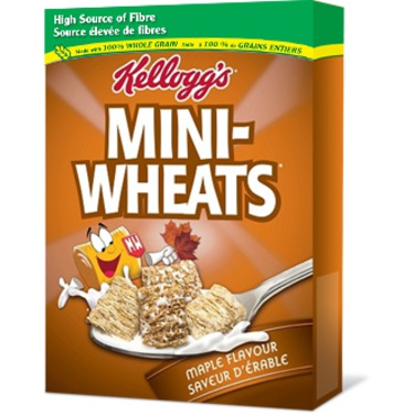 Kellogg's Frosted Mini Wheats Maple