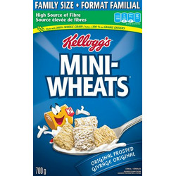 Kellogg's Mini-Wheats Original Frosted Cereal