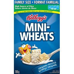 Kellogg's Mini-Wheats Original Frosted Cereal
