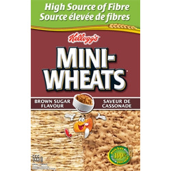 Kellogg's Mini-Wheat Brown Sugar