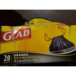 Glad Large Tie 'n Toss Garbage Bags