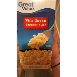 Great Value White Cheddar Macaroni and Cheese