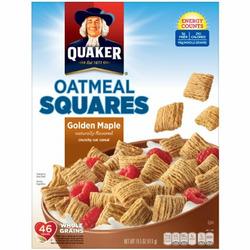 Quaker Oatmeal Squares Golden Maple