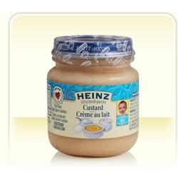 Heinz Puree Custard Dessert Baby Food