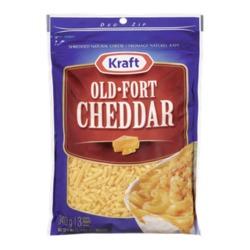Kraft Old-Fort Cheddar Shredded Cheese