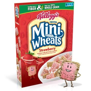 Kellogg's Mini Wheats Strawberry