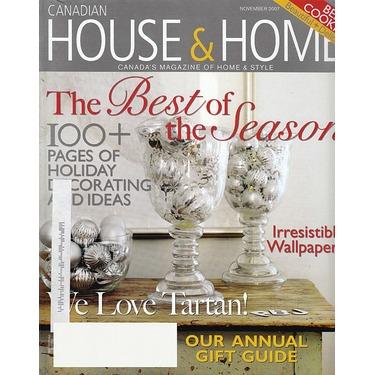 Canadian House U0026 Home Magazine ...