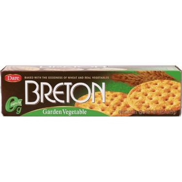 Dare Breton Garden Vegetables Crackers