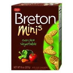Dare Breton Minis Vegetable Crackers