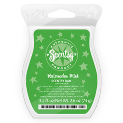 Scentsy Watermelon Mint Scentsy Bar