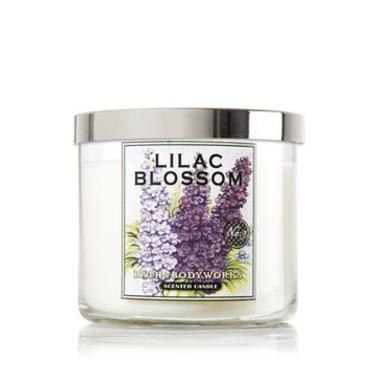 Bath & Body Works Lilac Blossom Candle