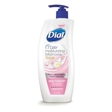 Dial 7 Day Moisturizing Lotion
