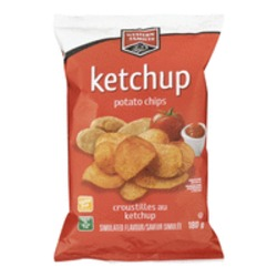 Western family ketchup chips