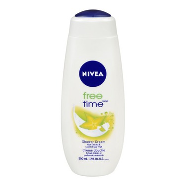 NIVEA Free Time Shower Cream Aloe Extract & Scent of Star Fruit