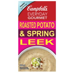 Campbell's Everyday Gourmet Roasted Potato and Spring Leek