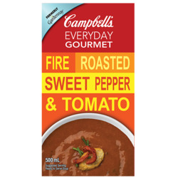 Campbell's Everyday Gourmet Fire Roasted Sweet Pepper and Tomato