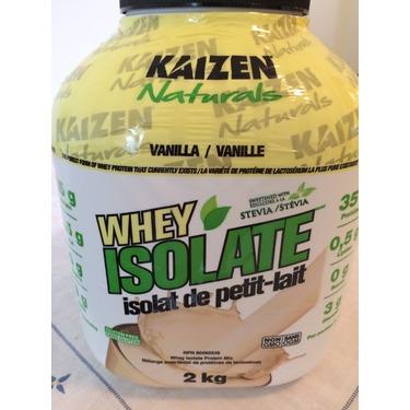 Kaizen Whey Isolate Protein Powder Vanilla