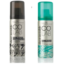 COLAB Sheer Invisible Dry Shampoo in London Classic