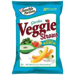 Sensible Portions Garden Veggie Straws Zesty Ranch