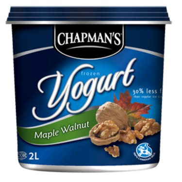 Chapman's Maple Walnut Frozen Yogurt
