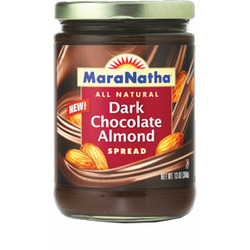 MaraNantha Dark Chocolate Almond Spread